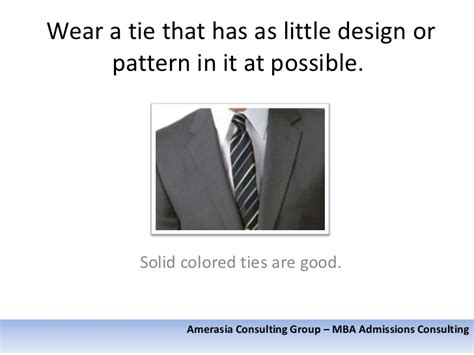 Should I Wear A Tie For Mba by How To Dress Properly For A Business School