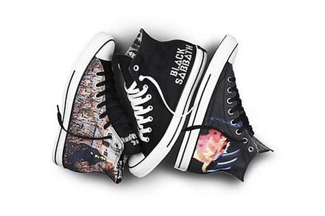 black sabbath shes black sabbath and converse team up for footwear collection