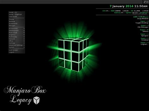 Manjaro 16061 Live Dvd Linux Os manjaro openbox 0 8 9 preview is a different of arch