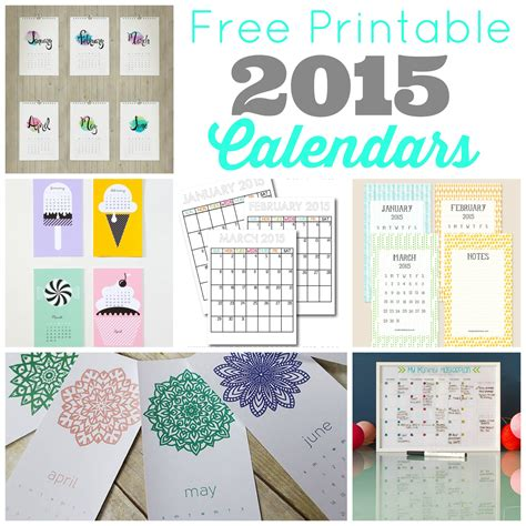 Is Calendar Free Free Printable 2015 Calendars Skip To My Lou