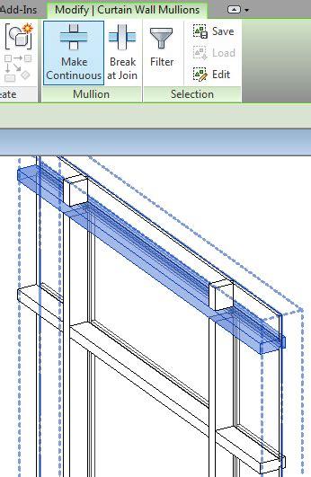 horizontal curtain wall revit curtainwallbim extend vertical mullions to add anchor points