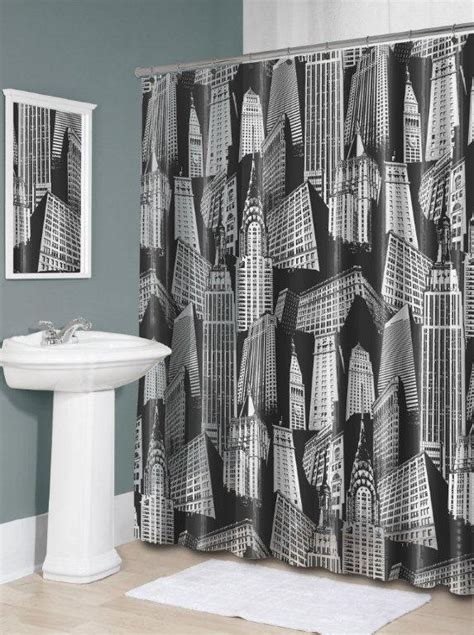 city scape shower curtain cityscape shower curtain furniture ideas deltaangelgroup