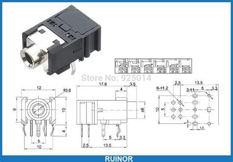 Socket Akai Mono 3 Pin 3 5mm mono wiring diagrams wiring diagram