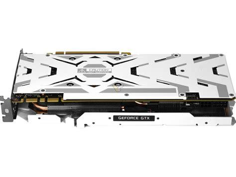 Galax Geforce Gtx 1050 Ti Exoc White Edition 4gb Ddr5 Limitededition galax gtx 1080 ti exoc white dual slot gtx 1080 ti