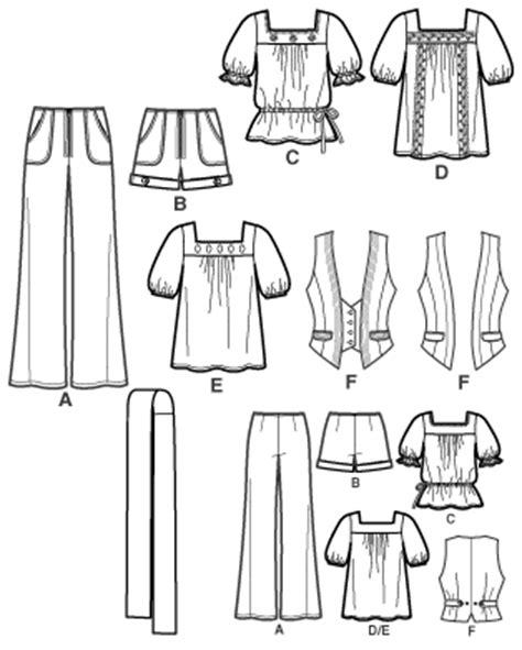 pattern review pattern sales simplicity 2665 junior or junior plus vest top pants
