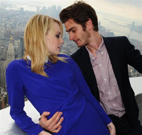 emma stone và andrew garfield spider man and sexy co star take manhattan ny daily news