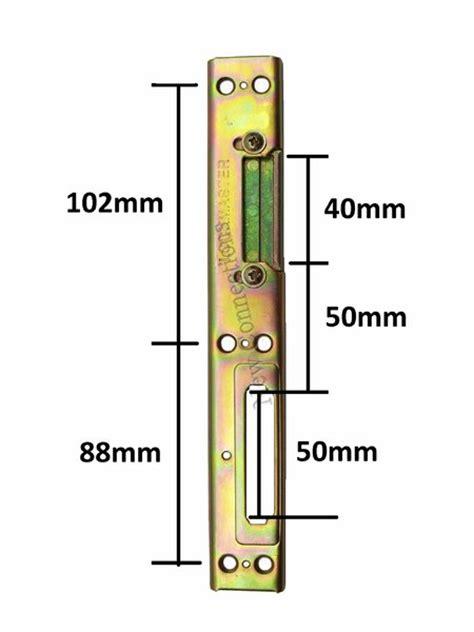 Door Lock Keep by Lockmaster Latch Deadbolt Upvc Door Keep New Connections