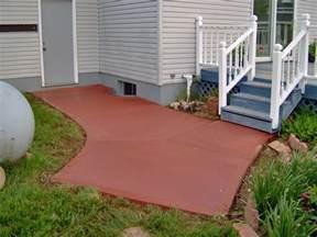 colored concrete contractor integral colored concrete harber concrete construction llc