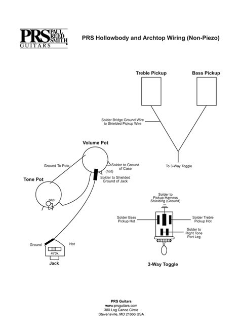 wiring diagram for prs custom 24 get free image about