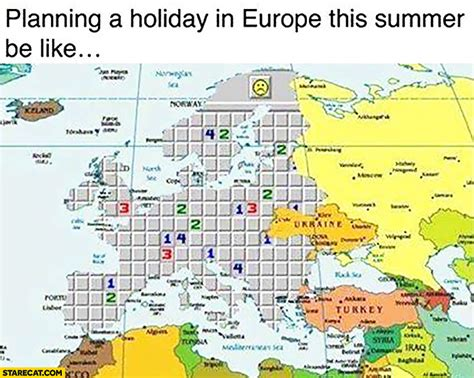 planning a holiday in europe this summer be like playing