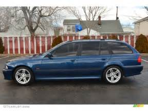 biarritz blue metallic 2000 bmw 5 series 540i wagon