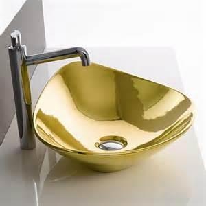 gold decorative bathroom faucets