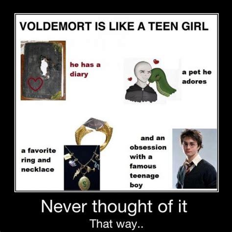 Funny Teenage Memes - voldemort