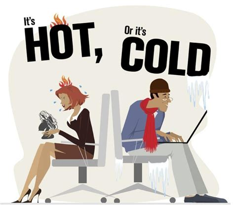 hot office conditions workplace temperature is no 1 cause of unhappiness among