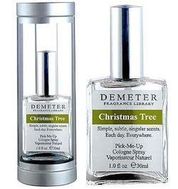 christmas tree demeter fragrance perfume a fragrance for