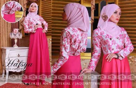 Exclusive Baju Menyusui Fanta Terlaris hafsya 2 fanta baju muslim gamis modern
