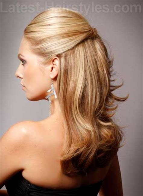 hairstyles for straight hair half up 20 hairstyles for prom long hair hairstyles haircuts
