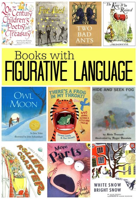 picture books with figurative language books with figurative language