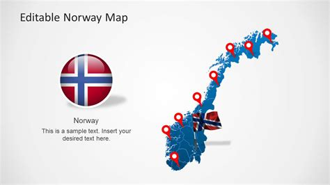 themes for powerpoint norway editable norway map template for powerpoint slidemodel