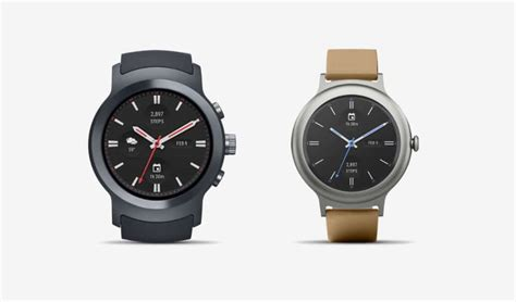 launches android wear 2 0 alongside two lg watches
