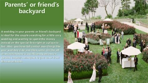 Wedding Ceremony Types by Different Types Of Venues In Wedding Ceremony