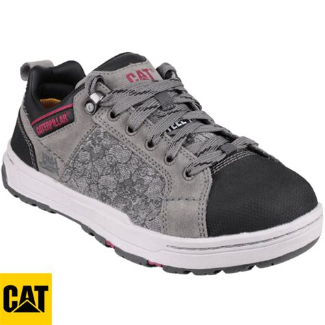 cat brode womens canvas safety shoe brodewcanvas