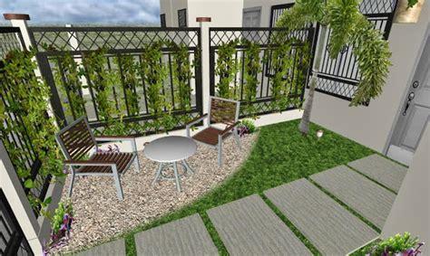 como decorar el patio de frente dise 241 o de un jard 237 n peque 241 o frente de una casa t 237 pica de