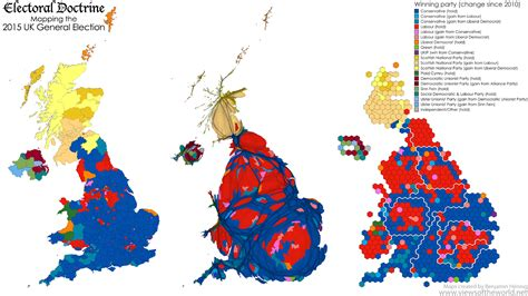 2015 uk election map united kingdom map vote