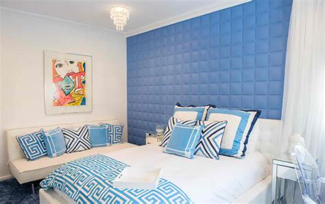 ideas  blue contemporary bedrooms home design lover