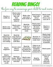 bingo reading activity