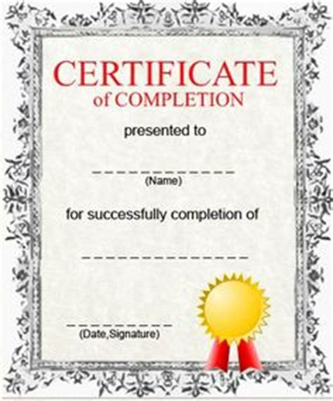 anger management certificate template certificates of completion templates search