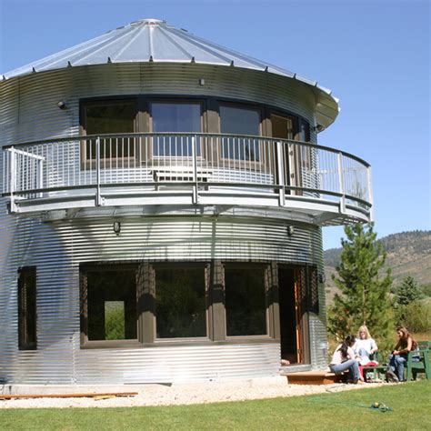 Round Home Floor Plans by Grain Bin Home