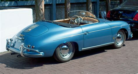 Porche 356 A by File 1957 Porsche 356 Speedster A Rear Jpg Wikimedia