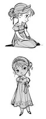 desenho 2d online elsa e anna do filme frozen por jin kim thecab the