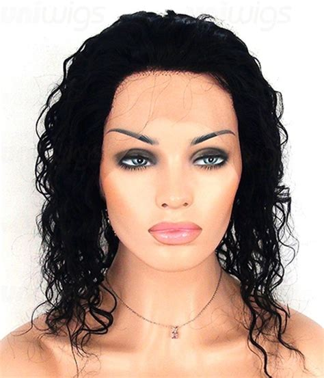 and wavy human hair 12 quot cena wet wavy lace front wig long remy human hair wig