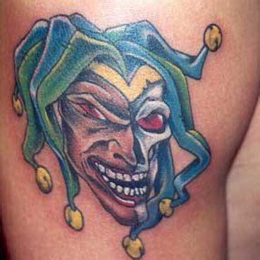tattoo skull joker joker skull tattoos tattoo design gallery