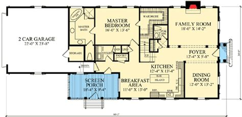 narrow lot colonial house plans colonial home for narrow lot 32417wp 1st floor master