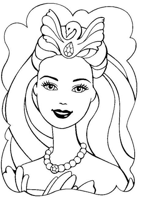 cute barbie coloring pages beautiful barbie coloring pages for girly girls barbie