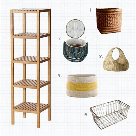 bathroom shelves with baskets project home sweet home bathroom storage mint