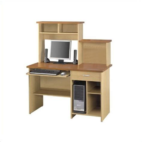 bestar active computer desk with 17 best images about computer desk with hutch on arbor gate cherries and large