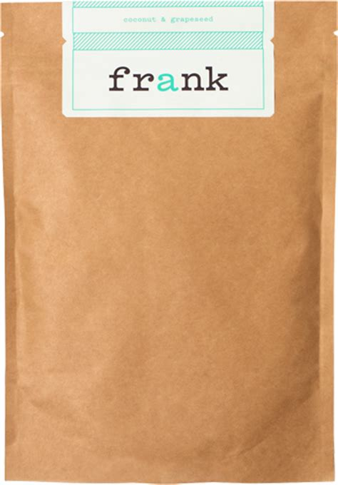 Frank Coffee Scrub frank coffee scrub coconut and grapeseed