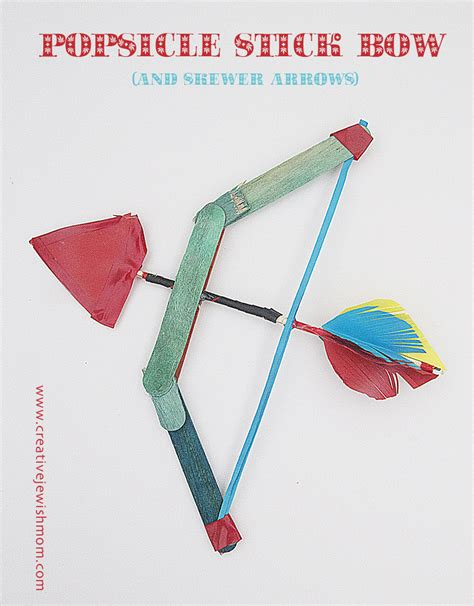 bow and arrow craft for creative l ag b omer