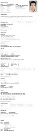 Resume Sle Bahasa Melayu Contoh Cover Letter Latihan Industri 17 Contoh Z