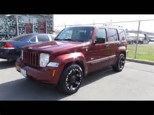 2008 jeep liberty on custom 18 inch black offroad rims