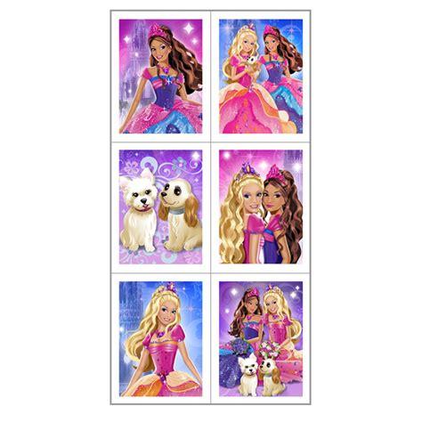 printable barbie stickers barbie diamond castle sticker sheets birthdayexpress com