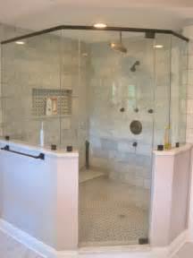 Kitchen Faucet Handles Master Bath Corner Shower Marble Subway Tile Oil Rubbed