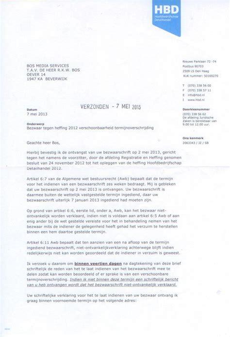 brief opstellen bezwaarschrift bezwaarschrift opstellen