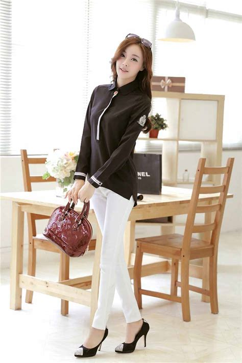 Baju Import Baju Murah Jy775556white Blouse jual blouse import korea lace henley blouse