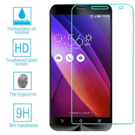 Tempered Glass Screen Protection For Asus Zenfone 2 Laser 5in tempered glass screen protector cover foil saver for asus zenfone 2 ze551ml kyle keeton s