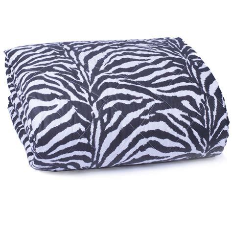 copriletto zebrato copriletto trapuntato cotone savana cose di casa un